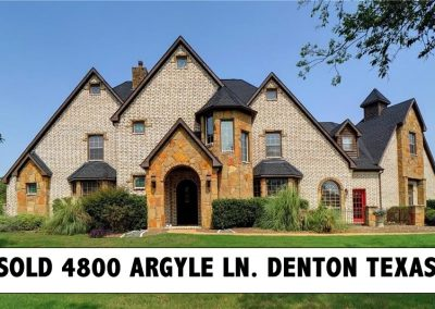 4800 Argyle Lane Denton TX 76226